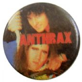 Anthrax - 'Noose' Button Badge
